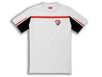 ショートシャツDucatiCorse14白_2