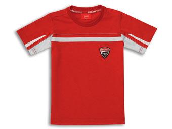 ショートシャツDucatiCorse14赤_2