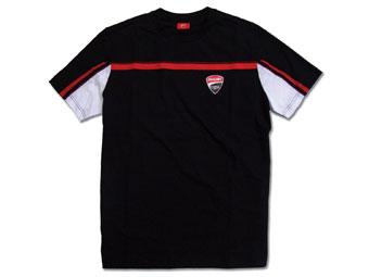 ショートシャツDucatiCorse14黒_2