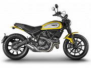 SCRAMBLER ICON YELLOW